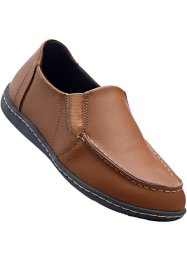 Lederslipper, bpc selection, camel