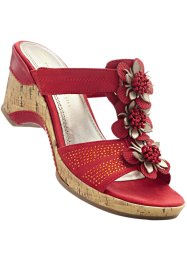 Pantolette, bpc bonprix collection, rot