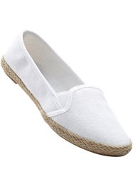 Freizeitslipper, bpc bonprix collection, weiss