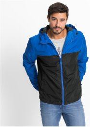 Outdoorjacke Regular Fit, bpc bonprix collection, blau/schwarz