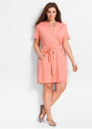 Robe en jersey manches 1/2, bpc bonprix collection, rose saumon
