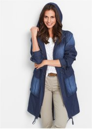 Jeans-Parka, bpc bonprix collection, darkblue stone used