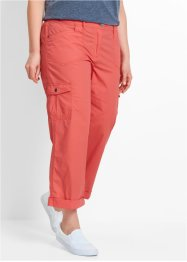 Pantalon cargo papertouch 7/8, bpc bonprix collection