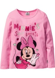 T-shirt manches longues MINNIE, Minnie Mouse, rose MINNIE