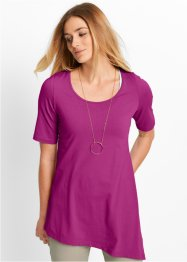 Zipfelshirt, Halbarm, bpc bonprix collection, violettorchidee
