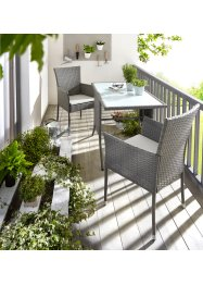 Mobilier de balcon Soroni (Ens. 3 pces.), bpc living bonprix collection