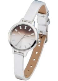 Uhr, bpc bonprix collection, silber metallic