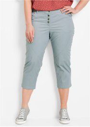 Pantalon extensible 3/4, bpc bonprix collection, gris argent