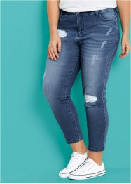 Jean Girlfriend 7/8 - designed by Maite Kelly, bpc bonprix collection, bleu stone