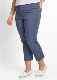 Pantalon extensible 7/8, bpc bonprix collection, indigo