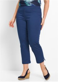 Pantalon confort super stretch 7/8, bpc bonprix collection, bleu nuit
