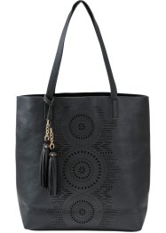 Henkelshopper Lasercut, bpc bonprix collection, schwarz