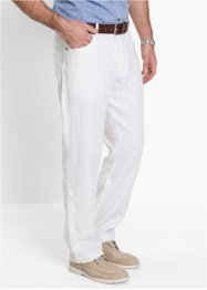 Pantalon en lin Regular Fit Straight, bpc selection