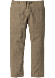 Pantalon lin et coton Regular Fit, bpc selection
