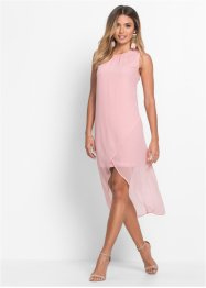 Chiffon-Kleid in Wickeloptik, BODYFLIRT, rosa