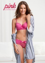 Pink Collection Schalen-BH mit Glitzersteinen, BODYFLIRT
