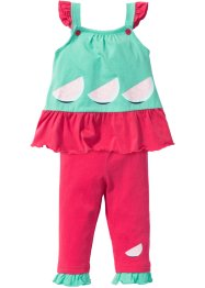 Baby Kleid + Leggings (2-tlg.) Bio-Baumwolle, bpc bonprix collection