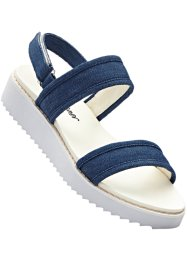 Sandales sport, bpc bonprix collection, bleu jean