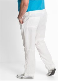 Regular Fit Leinen-Hose, Straight, bpc bonprix collection