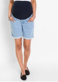 Umstands- Jeansshorts, bpc bonprix collection, blue bleached