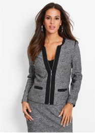 Blazer, bpc selection, gris/noir chiné