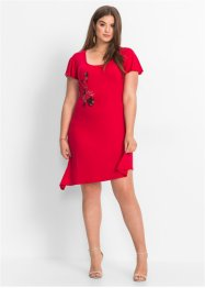 Robe avec broderie : Must-Have, BODYFLIRT, rouge