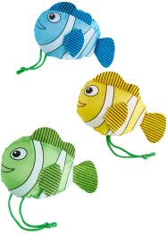 "Tragetaschen-Set ""Happy Fish"" (3-tlg.), bpc living"