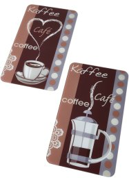 Plaques de protection Café (Ens. 2 pces.), bpc living bonprix collection