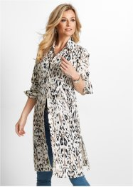 Long-Bluse mit Leo-Druck, bpc selection