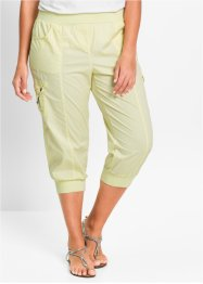 Pantalon cargo 3/4 extensible, bpc bonprix collection