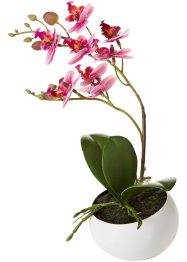 Plante artificielle Orchidée en pot, bpc living