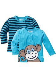 Lot de 2 t-shirts bébé, bpc bonprix collection