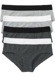 Panty (4er-Pack) Bio-Baumwolle, bpc bonprix collection