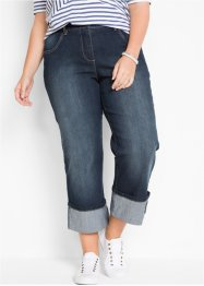 Loose-Fit-Stretch-Jeans in verkürzter Form, bpc bonprix collection