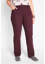 Pantalon droit en twill, bpc bonprix collection