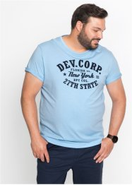 T-Shirt mit Frontprint Regular Fit, bpc bonprix collection