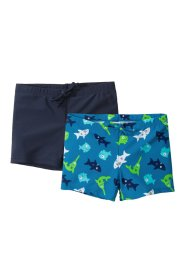 Lot de 2 shorts de bain garçon, bpc bonprix collection