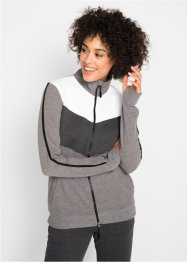Veste sweat-shirt, manches longues, bpc bonprix collection