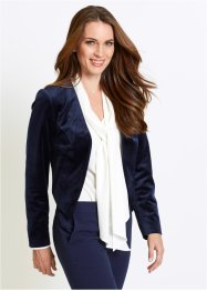 Blazer court en velours, bpc selection