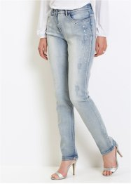 Jean extensible avec strass, bpc selection