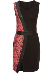Kleid mit Leoprint, BODYFLIRT boutique