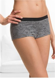 Lot de 4 shorties en coton bio, bpc bonprix collection