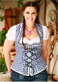 Blouse Dirndl en dentelle, bpc bonprix collection