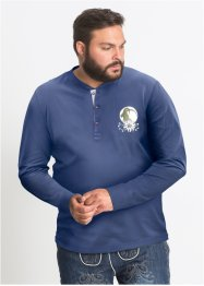 Langarmshirt mit Trachtenmotiv Regular Fit, bpc selection