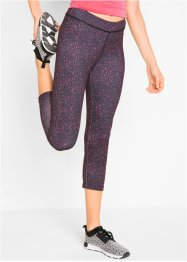 Legging de sport imprimé longueur 3/4, bpc bonprix collection