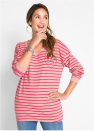 Gestreiftes Langarm-Oversize-Shirt – designt von Maite Kelly, bpc bonprix collection