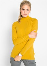 Basic Baumwollshirt Stretch-Jersey, bpc bonprix collection