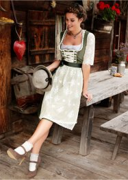 Dirndlbluse mit Spitzenarm, bpc bonprix collection