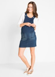 Umstands-Latzkleid aus Jeans, bpc bonprix collection