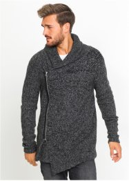 Strickjacke mit Schalkragen Regular Fit, RAINBOW